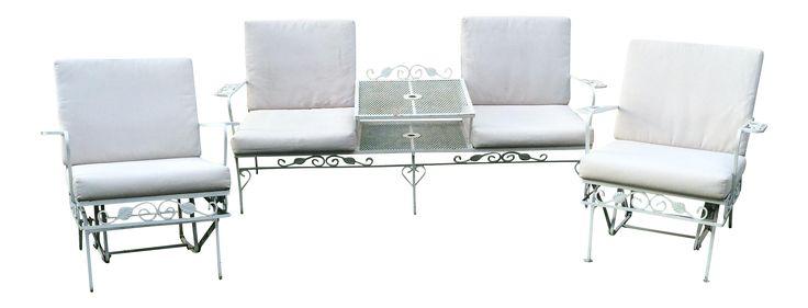 Salterini Outdoor Seating - Set of 3 on Chairish.com