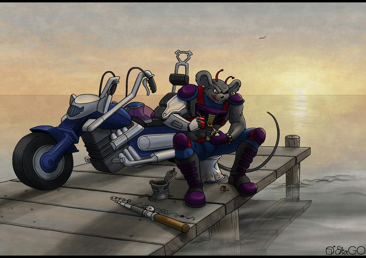 motorcycle biker mice - 736×519