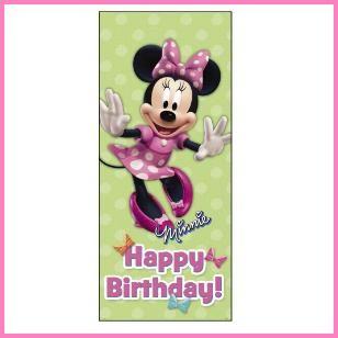 Minnie Mouse Door Poster, $2.29 Cdn each.