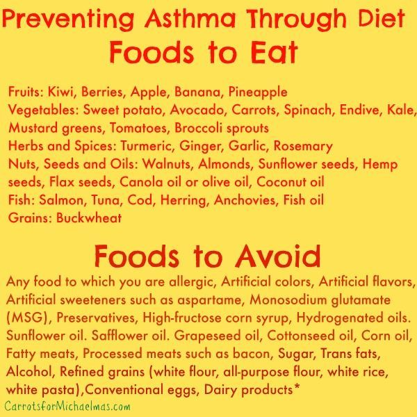 Preventing Asthma Through Food: What to Each and What to Avoid //Carrots for Michaelmas #asthmarelief