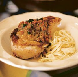 Classic French Chicken in White Wine sauce