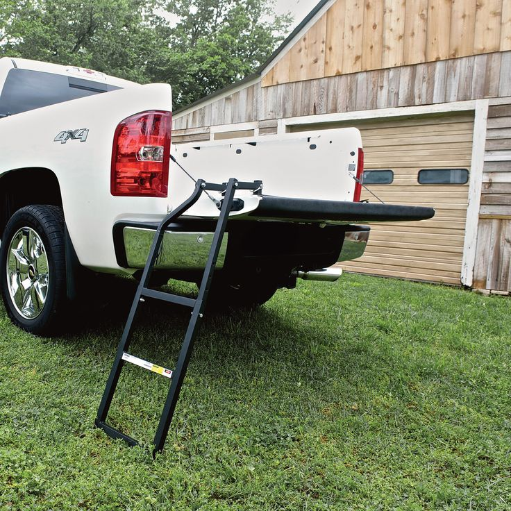 Traxion Tailgate Ladder, Model 100040 in 2020 Chevy