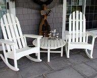 Adirondack Rocking Chairs  @