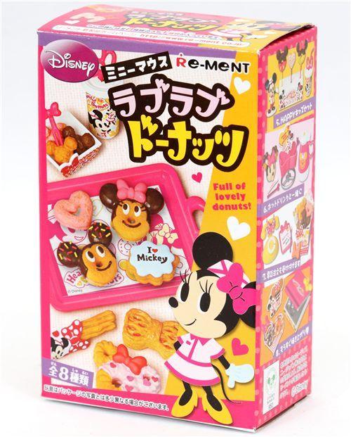 Re-Ment Disney Minnie Mouse Love Donuts Miniature 2