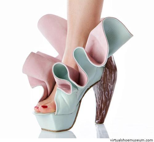 Love Shoes! Crazy, Beautiful, Weird, and sometime Scary  Tina Patni | virtualshoemuseum.com