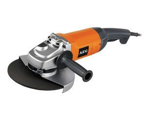 AEG WS21-230 Angle Grinder 240V - http://www.jewson.co.uk/tools-fixings-ironmongery/power-tools/angle-grinders/175-230mm-angle-grinders/products/TAEG0175/aeg-ws21-230-angle-grinder-240v/