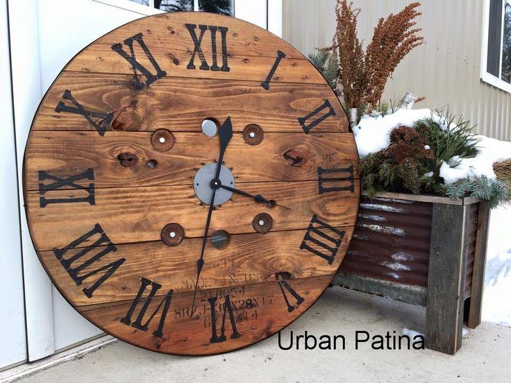 Top 25 Ideas About Wall Clock Decor On Pinterest