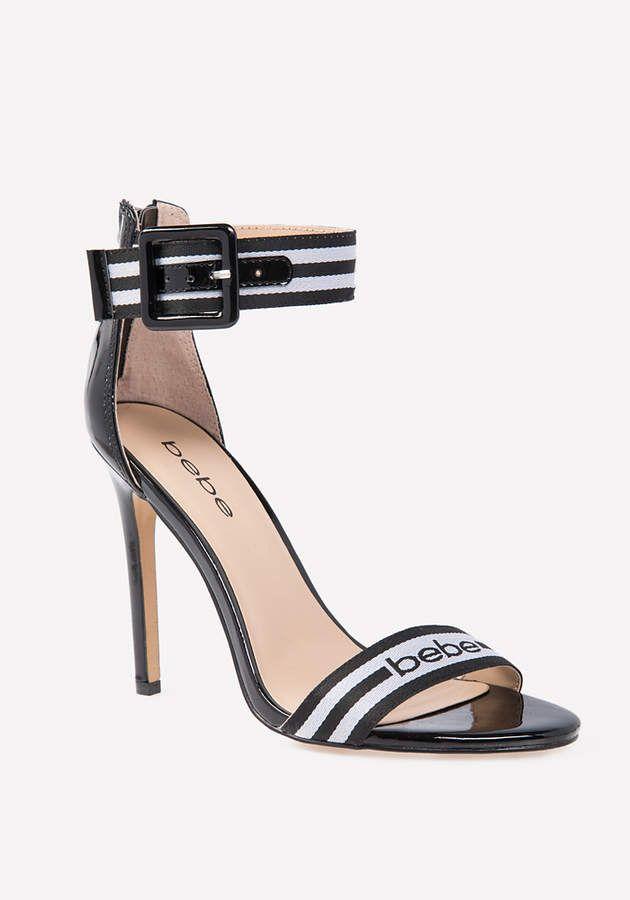 4e97e400c81 Bebe Gemmaa Logo Strap Sandals  affiliatelink