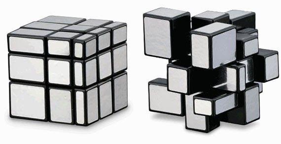 Cubo espejo plateado http://www.puzzlesingenio.com/cubos/266-cubo-espejo-plateado.html