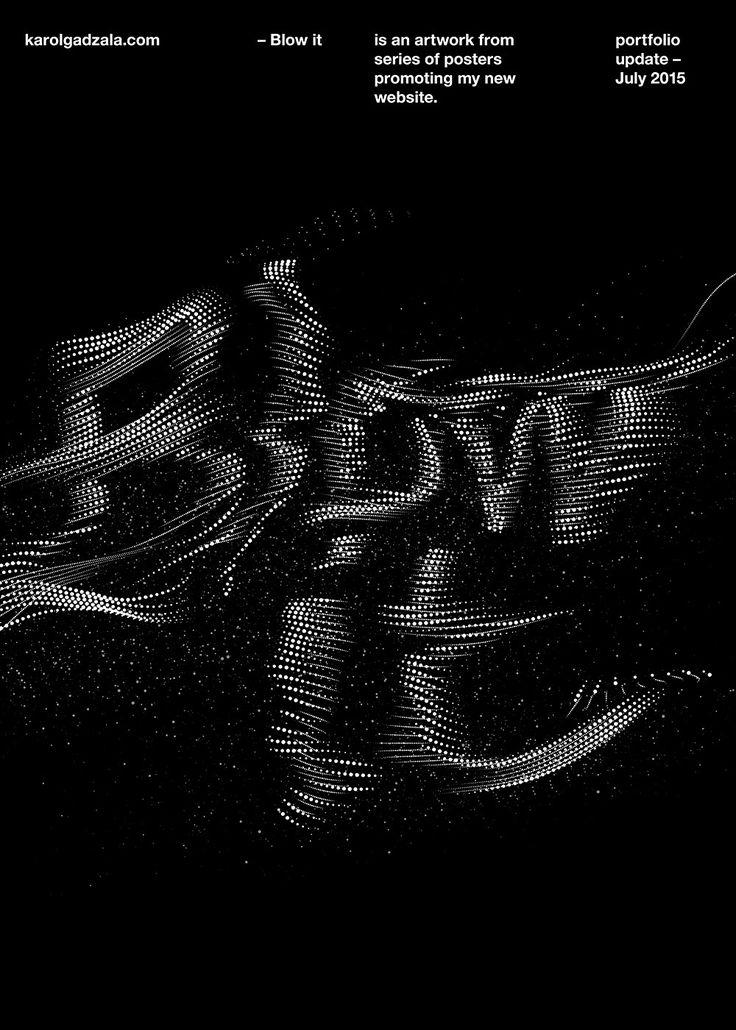 typographic posters - Karol Gadzala – Graphic design & Art direction