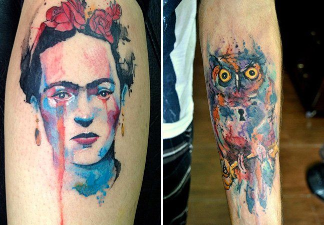Cada vez mais, as tatuagens têm se tornado verdadeiras formas de fazer arte. Por isso, as técnicas são também muito variadas. Apresentamos a da tattoo em aquarela, da qual o brasileiro Victor Octaviano é um excelente representante. Ele diz que começou a tatuar por acaso, ainda que sempre tenha gostado de pintar. Mas quando um amigo viu seus desenhos, imediatamente o aconselhou a começar a tatuar. Victor não imaginava que um dia viria a viver disso mesmo. O efeito conseguido pelas manchas e…
