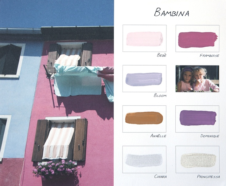 Kleurenkaart Carte Colori