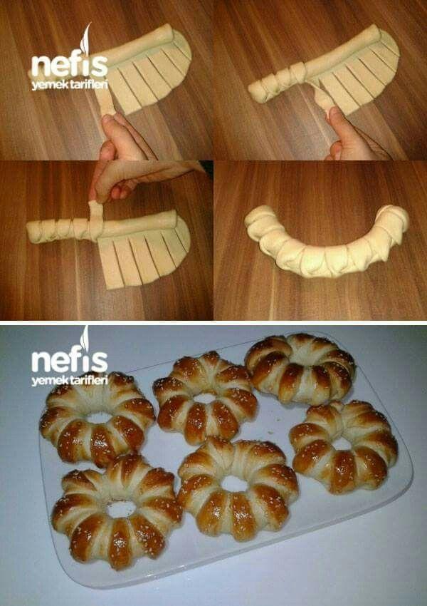 Cute way to form pretzel dough