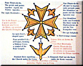 The Huguenot Cross was a symbol that my early ancestors displayed.
