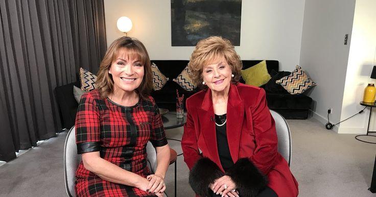 Watch: Barbara Knox interview with ITV's Lorraine