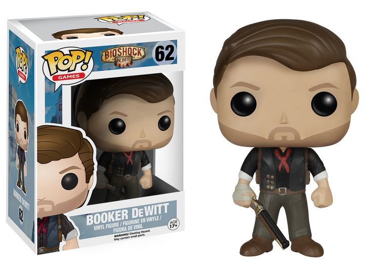 Pop! Games: Bioshock - Booker DeWitt