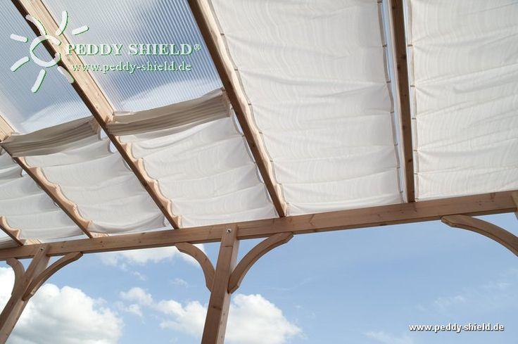 TerrassenUberdachung Holz Mit Sonnenschutz ~ Sonnenschutz Terrassenüberdachung Innenbeschattung  Peddy Shield