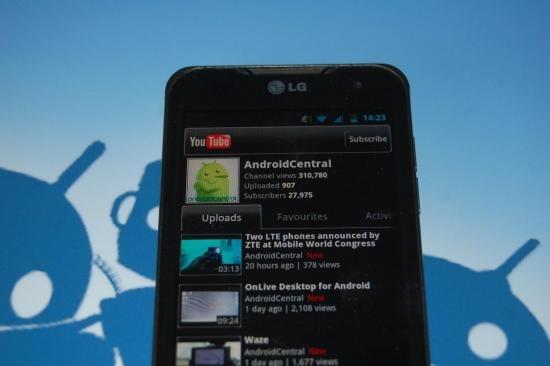 La aplicacion Youtube para Android ahora soporta Caldidad HD