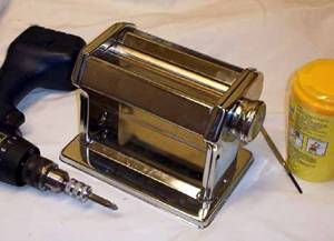 How to take apart your polymer clay pasta machine for a deep cleaning.