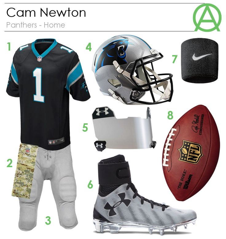 Cam Newton Panthers - Home Outfit