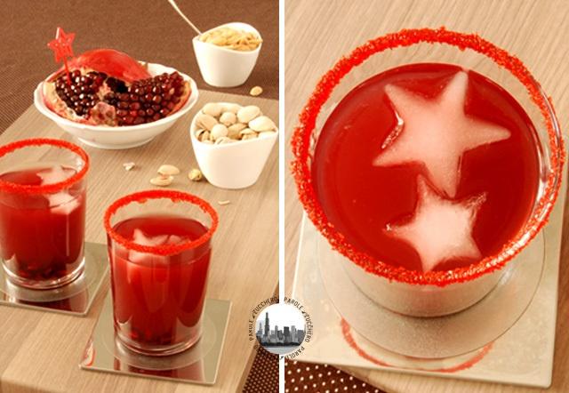 Drink alla melograna natalizio