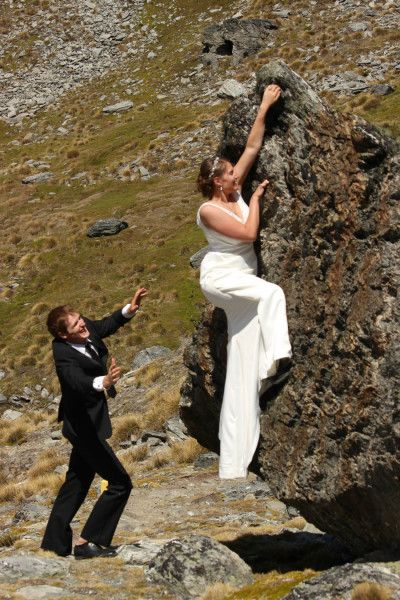 Queenstown Wedding Blog - An Adventure Wedding With a Rock Climbing Bride in Queenstown, New Zealand