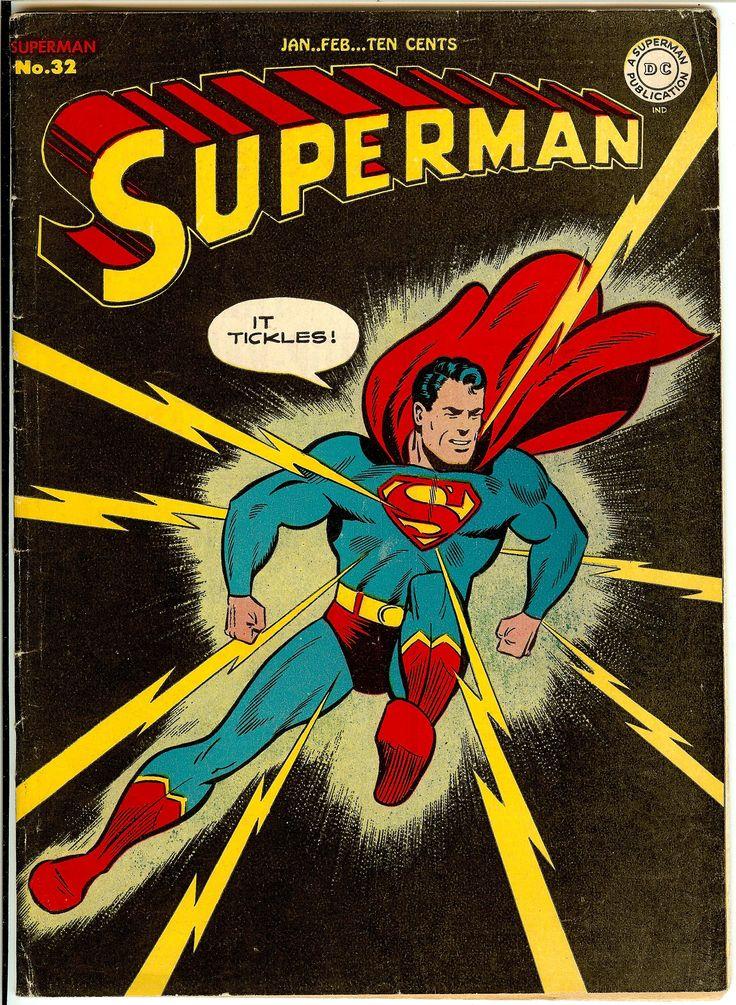 Superman Comic Book White Cover : Superman man of steel dc comics vintage covers superheroes