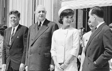 Voyage officiel de John Fitzgerald Kennedy, président des États-Unis, et de son épouse Jacqueline Kennedy, 31 mai 1961,  Paris, Archives nationales, 5AG1/1053.  © Archives nationales