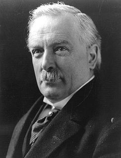 David Lloyd George, 1st Earl Lloyd-George of Dwyfor, OM, PC (17 January 1863 – 26 March 1945) was a British Liberal politician and statesman. He was Prime Minister of the United Kingdom and led a Wartime Coalition Government between 1916 and 1922 and was the Leader of the Liberal Party from 1926 to 1931.