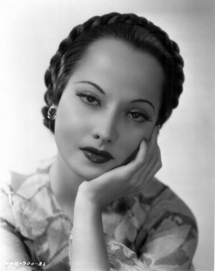 merle oberon | 1935 | #vintage #1930s #hair #makeup