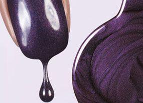 Nail Polish for the wedding?: Nailpolish Ideas, Nail Art Designs, Purple Nail Art, Purple Nails, Purple Polish, Color Purple, Color Nails, Poshpurple Nail Polish