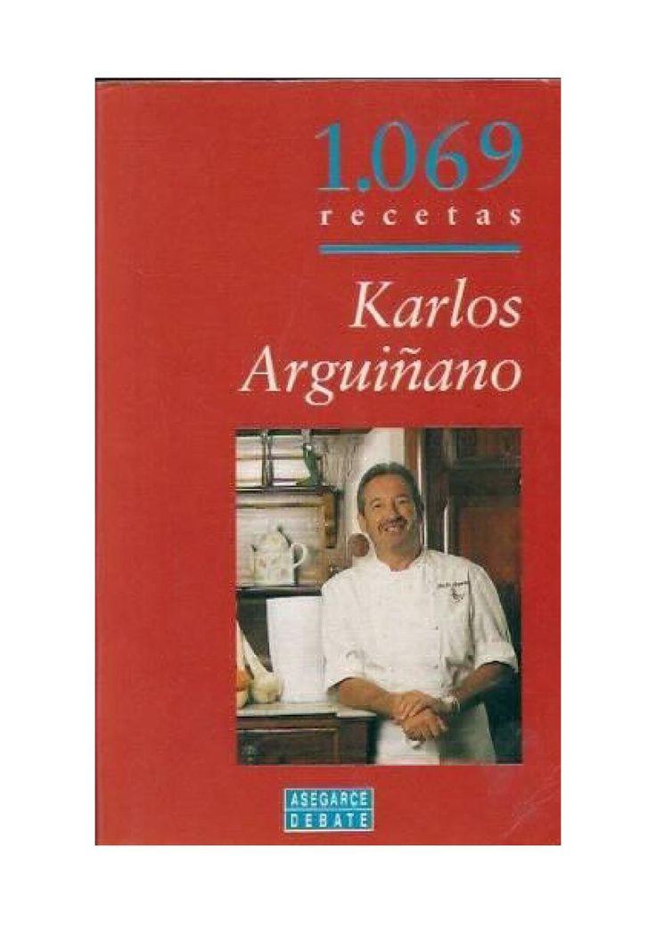 KarlosArguiñano1069RecetasDeCocina  Libro de recetas.
