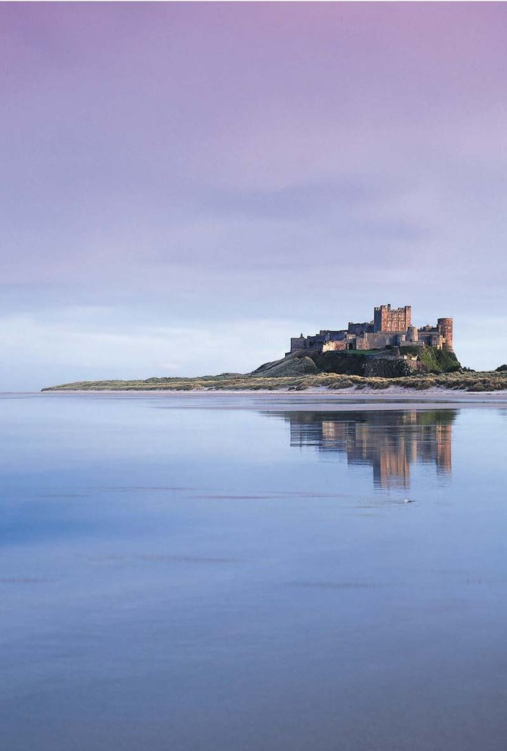 Bamburgh has one of the finest beaches on the Northumberland coast, its golden sands overlooked by the imposing Bamburgh Castle