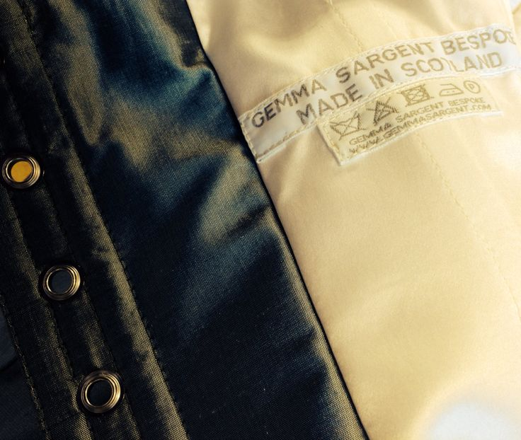 Inside a Gemma Sargent couture corset!