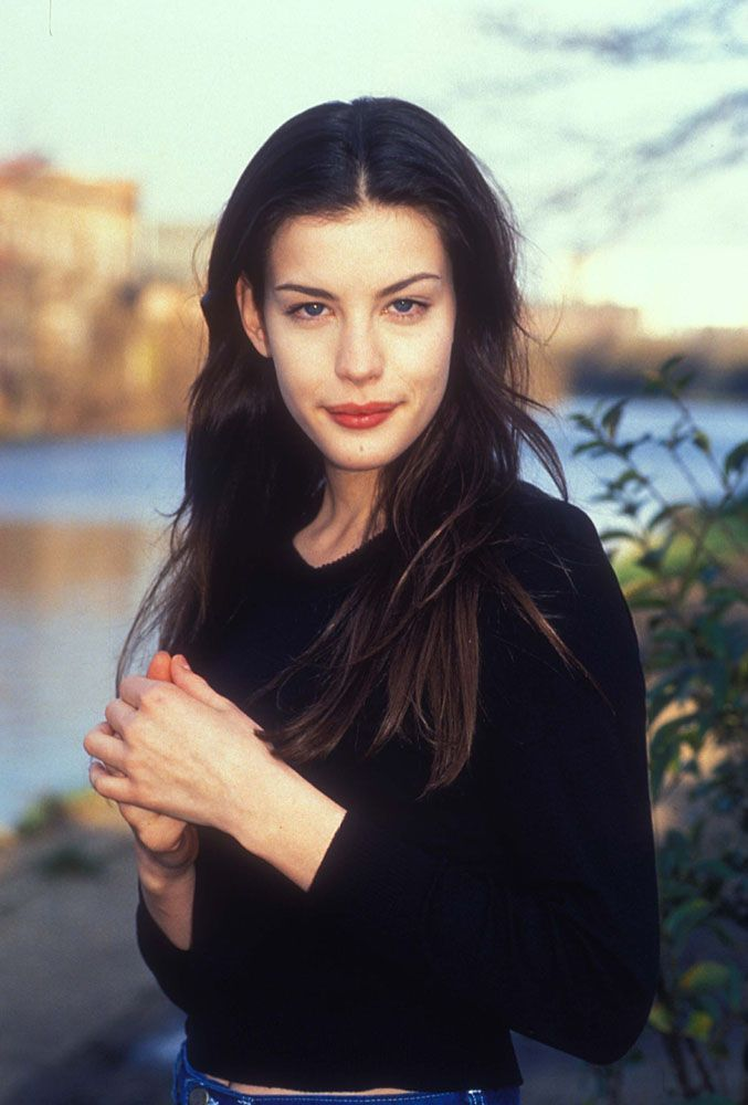 Liv Tyler..had someone say I looked like her years ago, we share the same oblong face shape :)