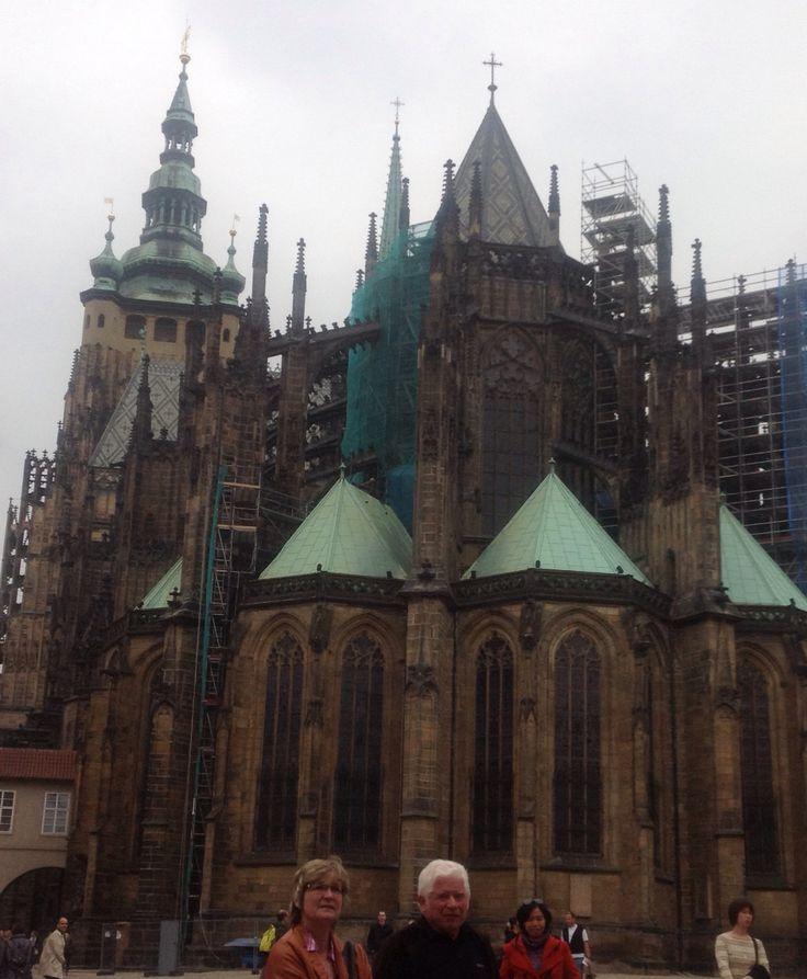 Architecture, church, detail, Prague