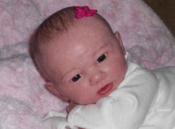 Reborn doll Berenguer LaNewborn BABY girl vinyl preemie *Junebird Nursery*