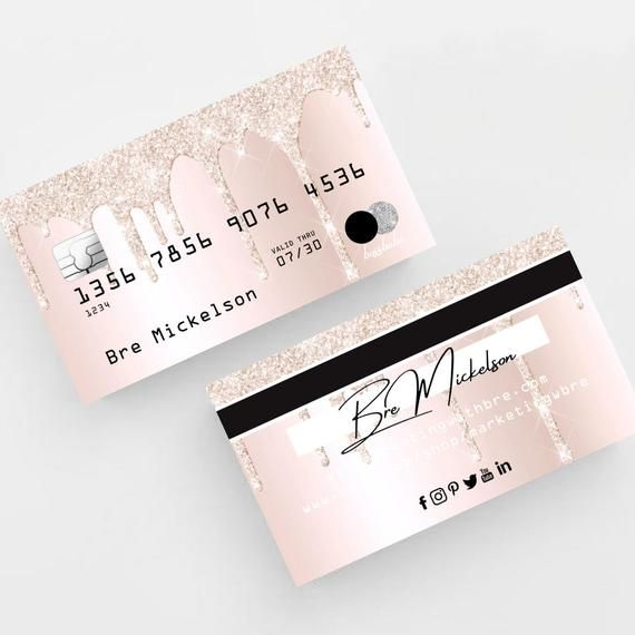 Credit Card Themed Business Cards Marketing Tool 500 Business Cards Custom Cards Printed Cards Marketing Business Card Printed Cards Printing Business Cards