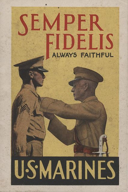 Marine Corps Recruiting Booklet, 1940   Flickr - Photo Sharing!