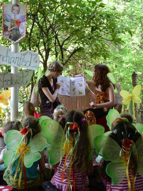#ivillage  Woodland Fairy -- Best Girl Birthday Themes