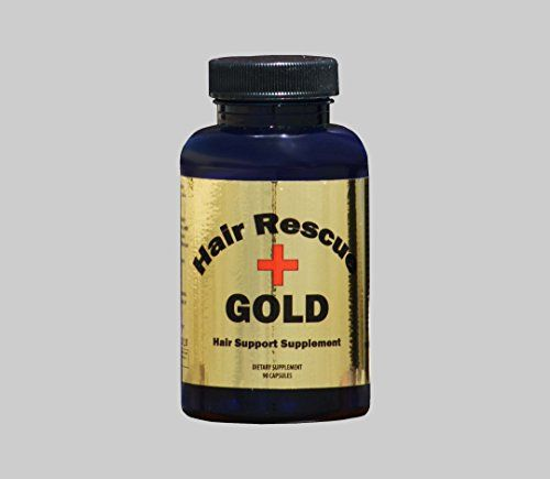 Hair Rescue GOLD Plus Supplement ★ Hair Growth Supplement ★ Hair Vitamins ★ Stop Hair Loss ** More info could be found at the image url.