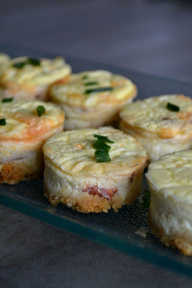 Mini-cheesecakes au chorizo