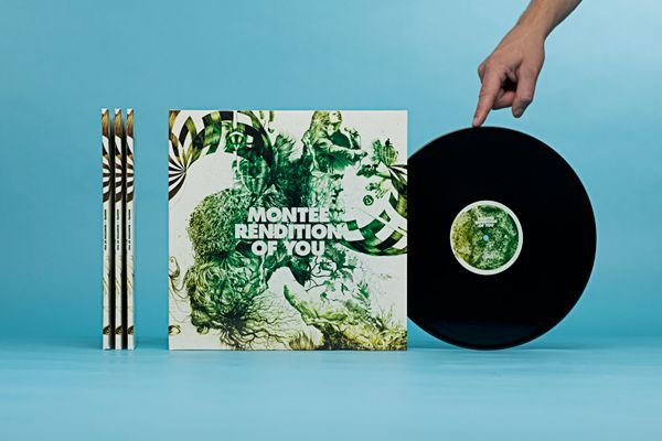 Monteé - Rendition of you on Packaging Design Served