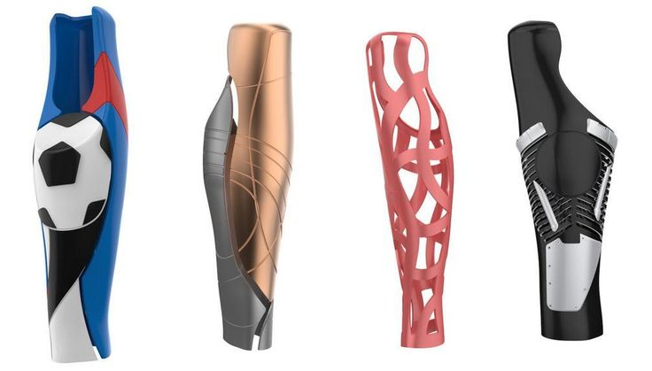 Dersorg New D Printed Foot Prosthetics Improve Stability - Designer creates see through 3d printed prosthetics made from titanium