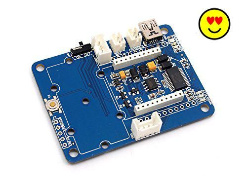 #robotics #XBee Carrier is a Wireless Sensor Network (WSN) base board designed for Bee series and groves. It is primarily suitable for standalone Bee Nodes like ...