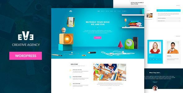 ThemeForest - Eve - Responsive & Multipurpose WordPress Theme Free Download