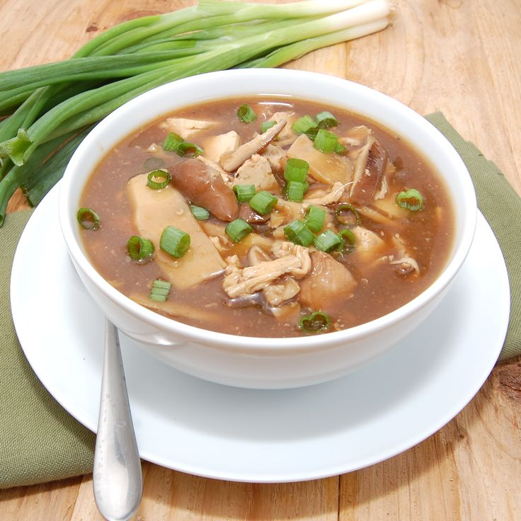 sour and spicy asian soup