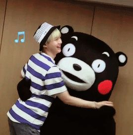 omg :') | SUGA | min yoongi | 민윤기 | BTS | AGUST D | bts and kumamon - Google Search