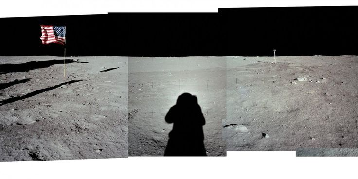 These 17 panoramas and GIFs show the first moon landing in unbelievable detail