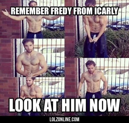 Remember Fredy From Icarly?#funny #lol #lolzonline